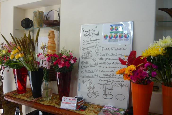 Curso de Ikebana e Arte Floral - Sede- SP .