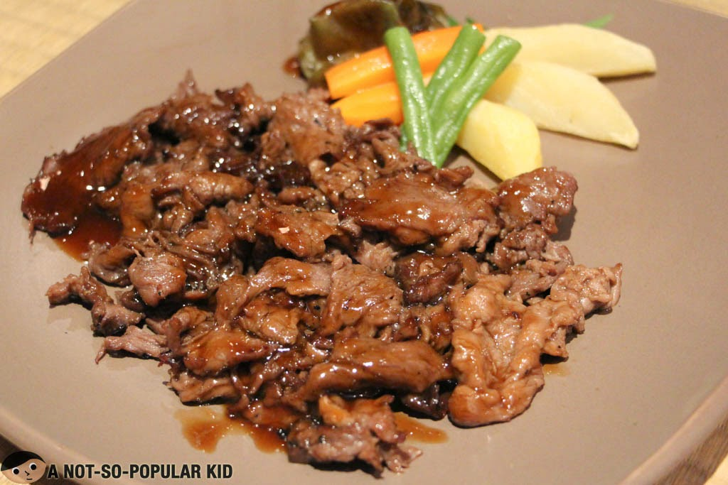 The tastiest Beef Teriyaki in town by Sugi Restaurant