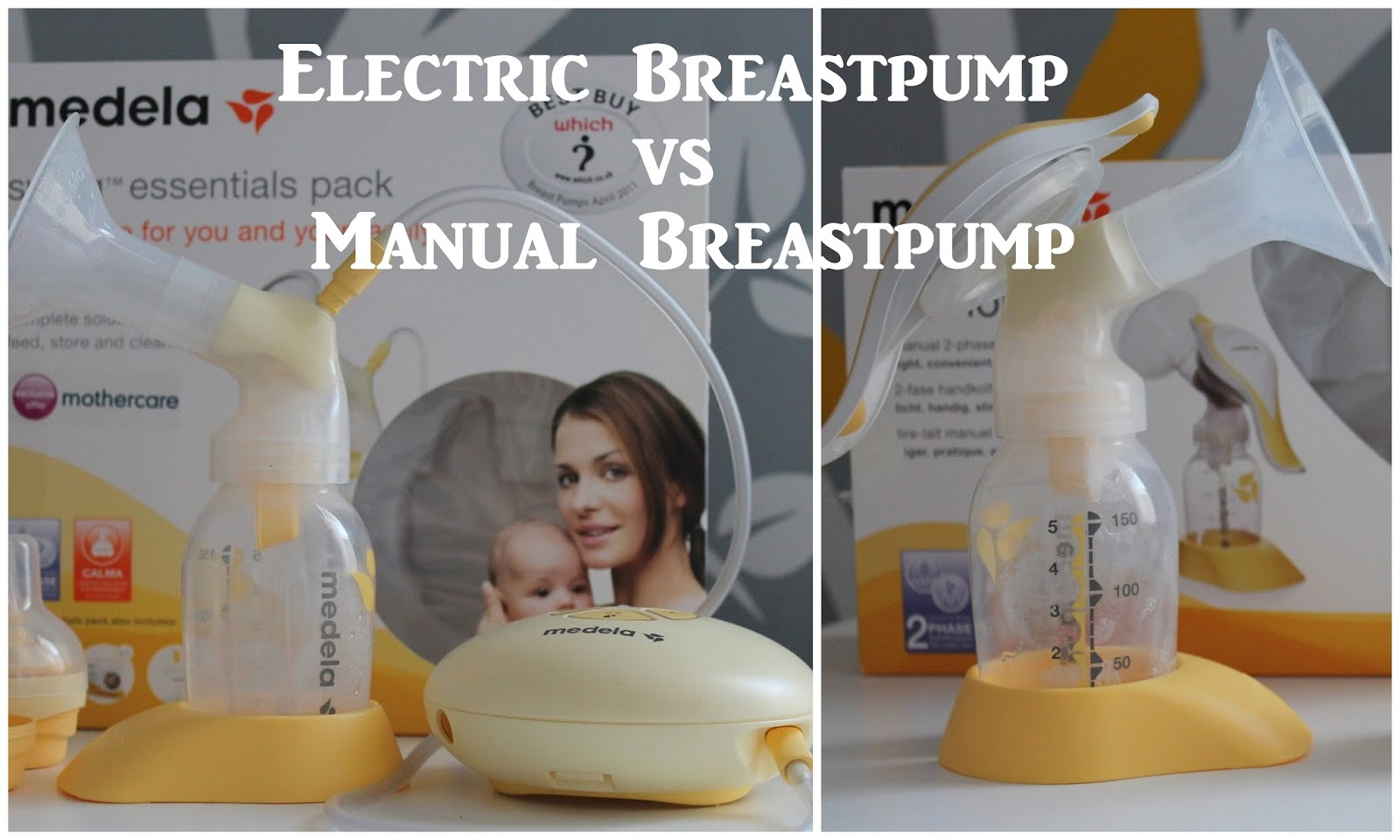Electric Breastpump or Manual Breastpump
