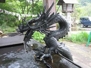 Estatuas de dragones Asiaticos