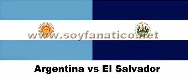 argentina, elsalvador, amistoso