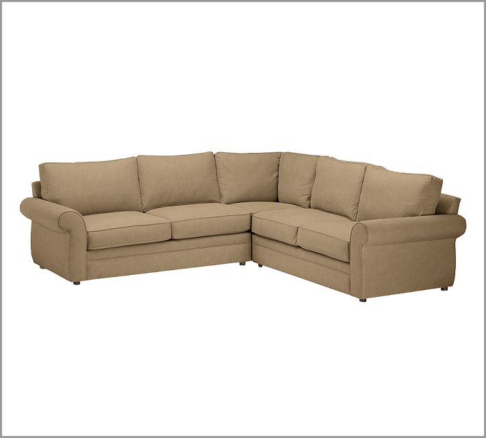 Eat sleep decorate sectional couch choices for Pearce sectional sofa pottery barn
