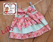 Lilly Skirt Sewng Pattern