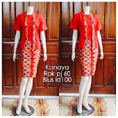 Dress-Batik-Solo-DB 5090 Harga Reseller : Rp 85.000,-