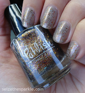 Pahlish Autumn People over SinfulShine Prosecco