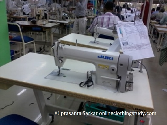 different for sewing machine