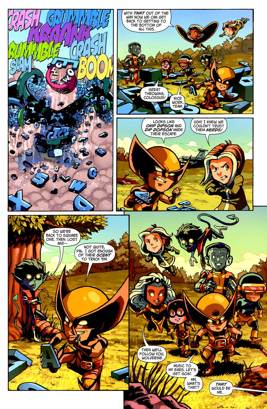 Read online X-Babies comic -  Issue #2 - 22
