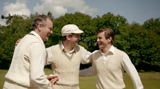 Downton Abbey cricket match