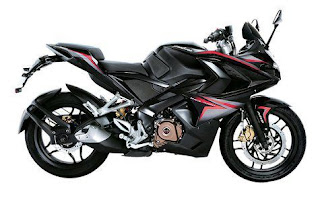 Bajaj Pulsar RS200 Demon Black 2016