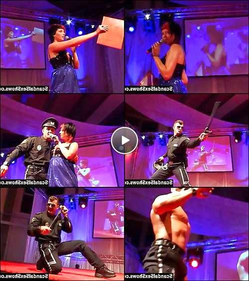 male stripper show video