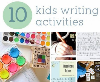 10 Kids Writing Activities