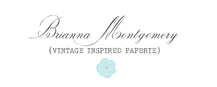 Brianna Montgomery - Vintage Inspired Paperie