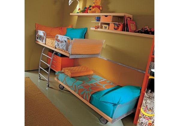Fotos de dormitorios juveniles para dos chicas - Camas para dos hermanos ...