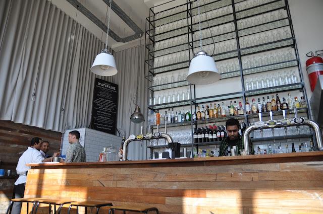 Waterline+Bar+Restaurant+Regents+Canal+review+London