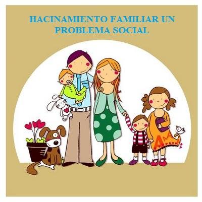 HACINAMIENTO FAMILIAR PROBLEMA SOCIAL