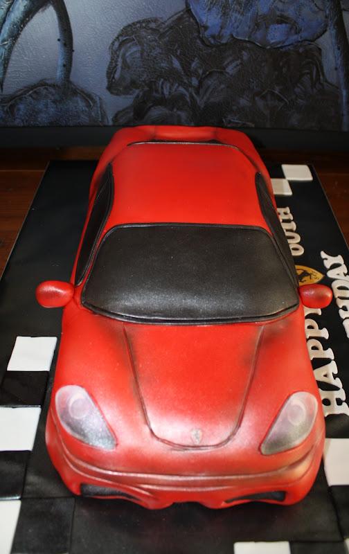 Red Ferrari Cake Images : Sandy s Cakes: Red Ferrari