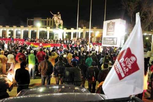 Alcalde Fernando Acho afirma que Villazón está lista para recibir al Dakar 2016