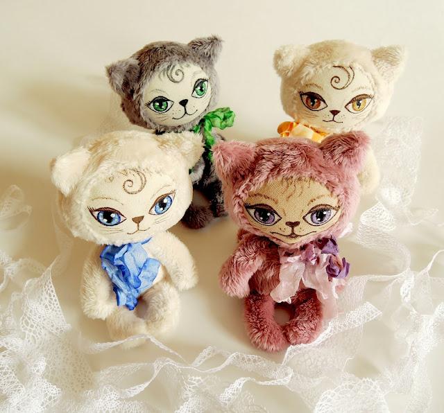 маленькие котики