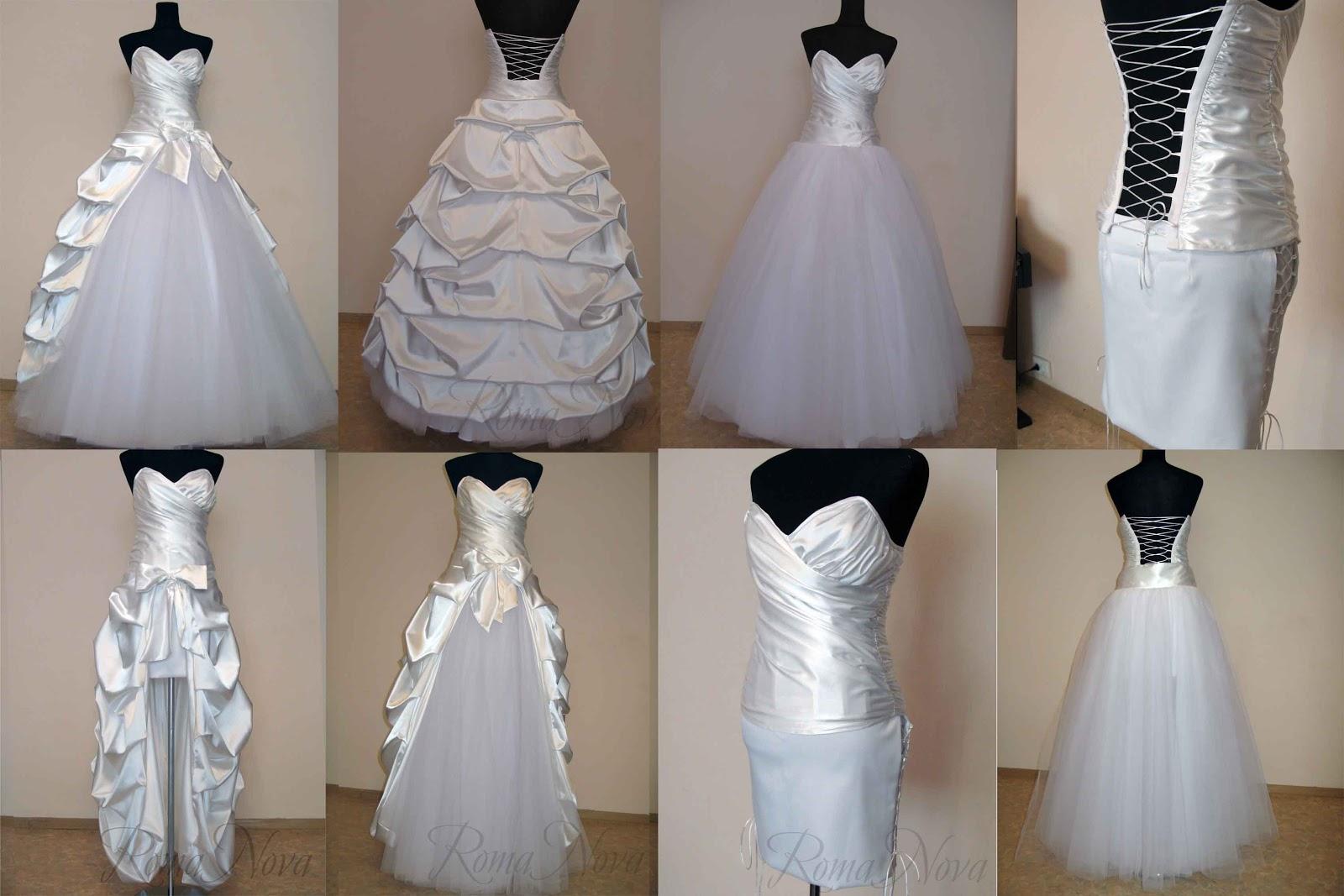 Как перешить корсет на свадебном платье
