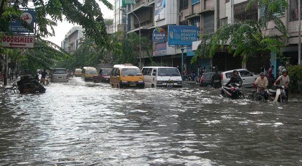 Banjir Rendam 1.206 Rumah di Medan