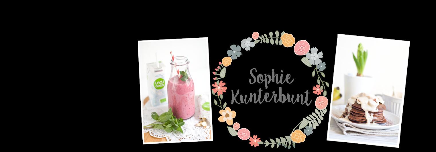"*// Sophie Kunterbunt Foodblog //"""