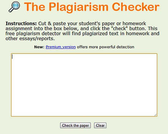 Plagiarism essay checker