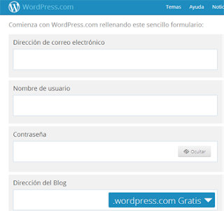 formulario registro wordpress