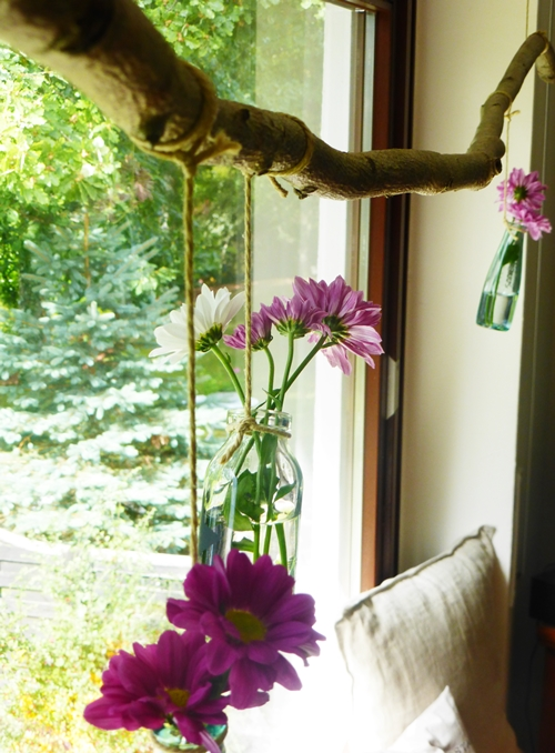 Herbst Ast DIY Deko Blumen Posseliesje