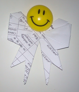 DIY: mi 1er lazo con origami
