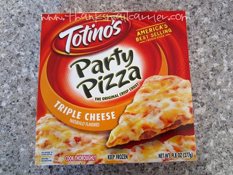 Totino's cheese pizza
