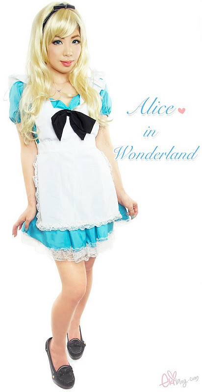 ekiBlog.com: Alice in wonderland tutorial!+ Sigma giveaway!