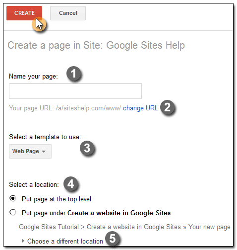 huong dan tao google sites 2012, google site tutorial,google sites, thu thuat Google sites
