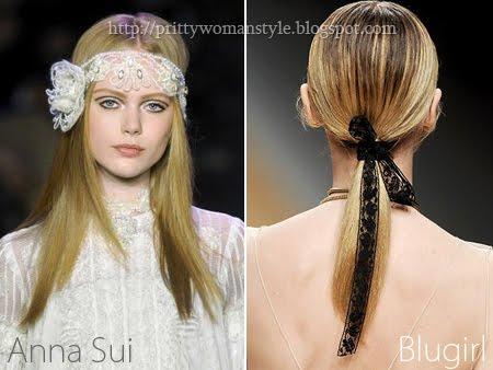 дантелени аксесоари за коса
