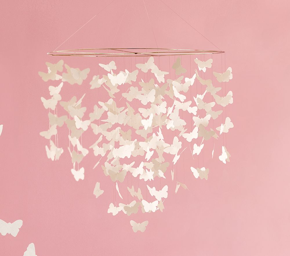 a puppet opera diy paper butterfly chandelier