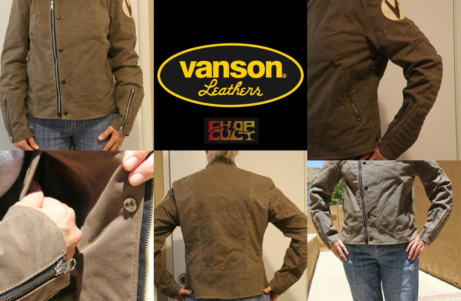 Vanson leather motorcycle gloves - Welcome Vanson Leathers