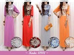 Gamis Spandex Brukat Payet SOLD OUT