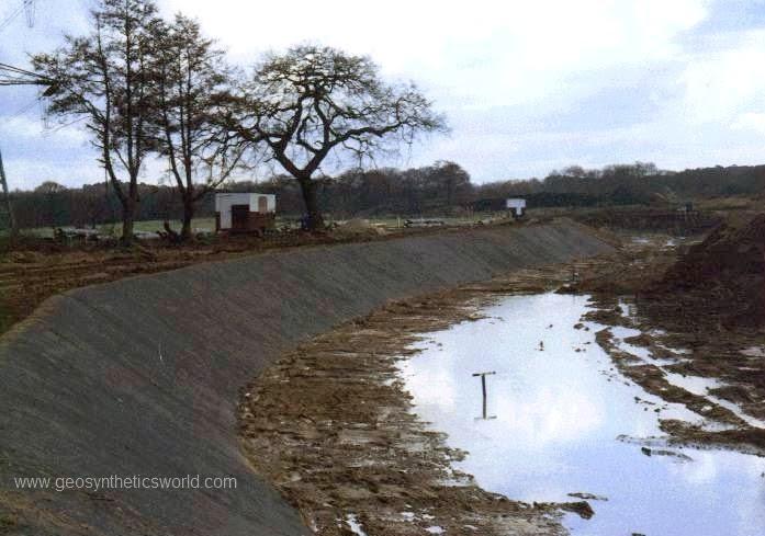 Geosynthetics World Erosion Control River Banks