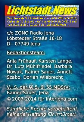 Impressum bis 31.07.2014
