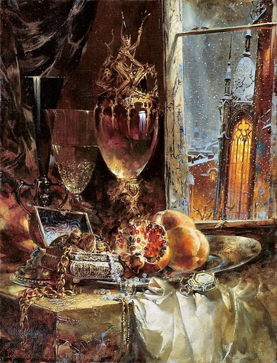 Ivan Slavinsky ~ Surrealist and impressionist painter