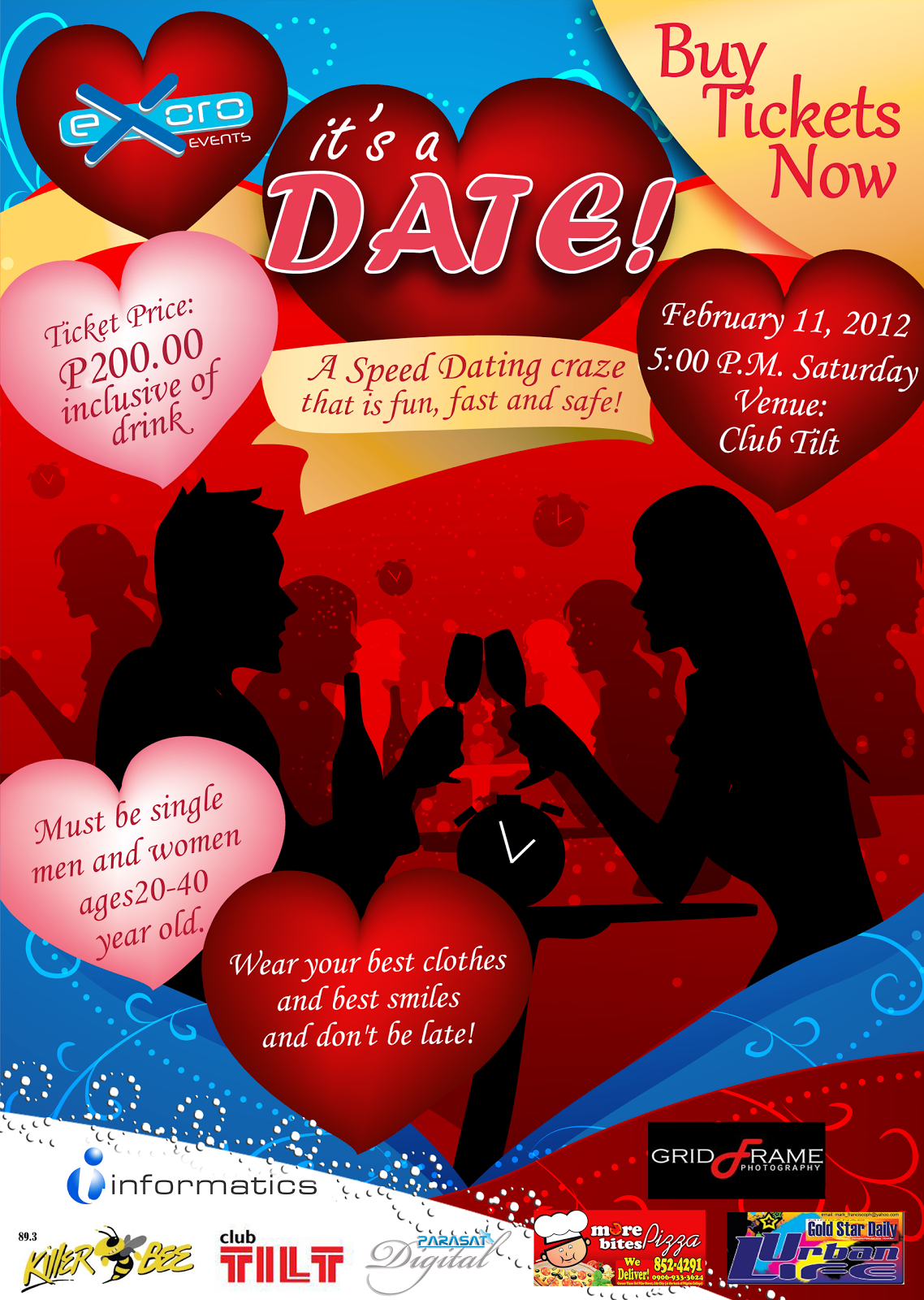 What is speed dating event
