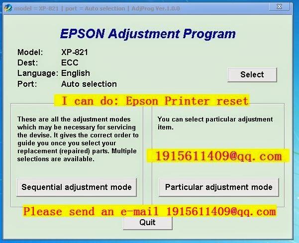 Epson M200 resetter rar
