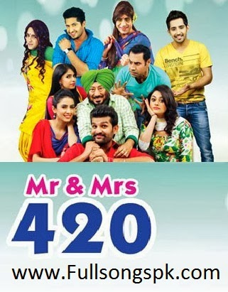 Mr and Mrs 420,2014,Panjabi Movie,poster