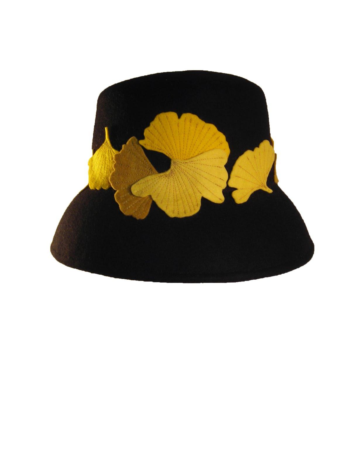 ginko felt hat