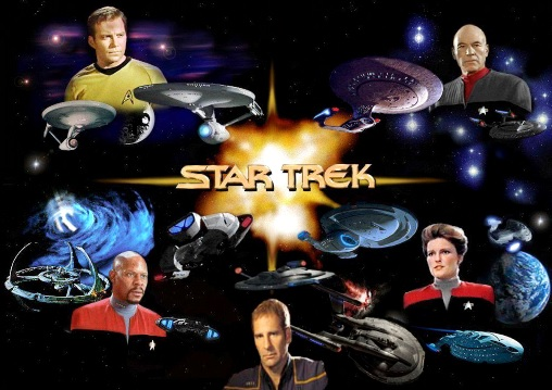 Naves que se ven en la Película Star Trek o Viaje a las estrellas