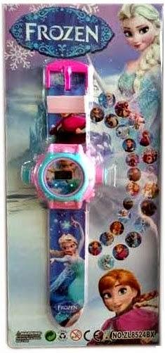 Kado ulang tahun berupa jam tangan untuk anak .