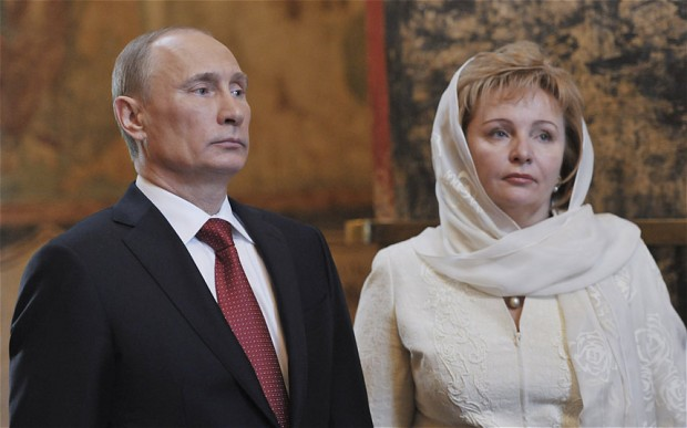 Lydmilla Putina já não é Putin!