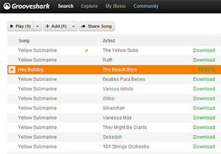 Πώς να γεμίσετε mp3 από το Grooveshark ver. 2