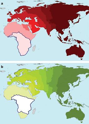 Variation diversité phénotypique et génotypique de l'Humanité