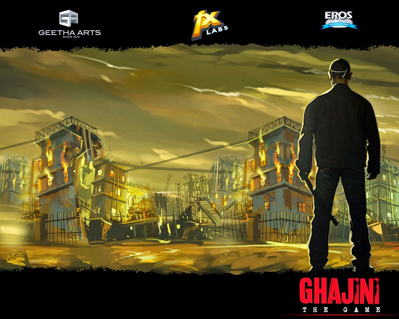 Ghajini The Game  For PC